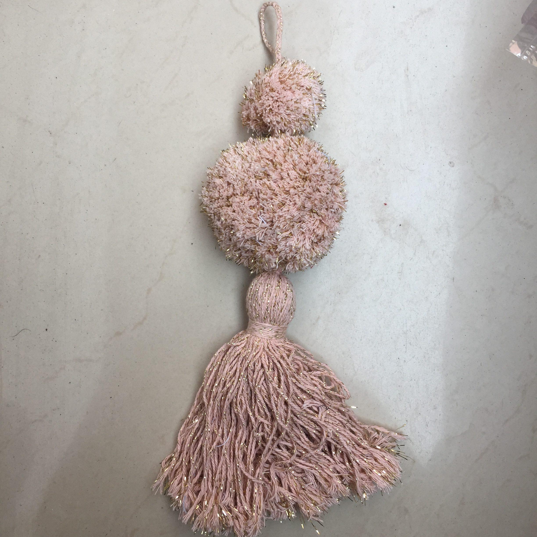 Cotton Tassels with Pom Pom