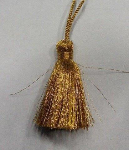 Golden Zari Tassel